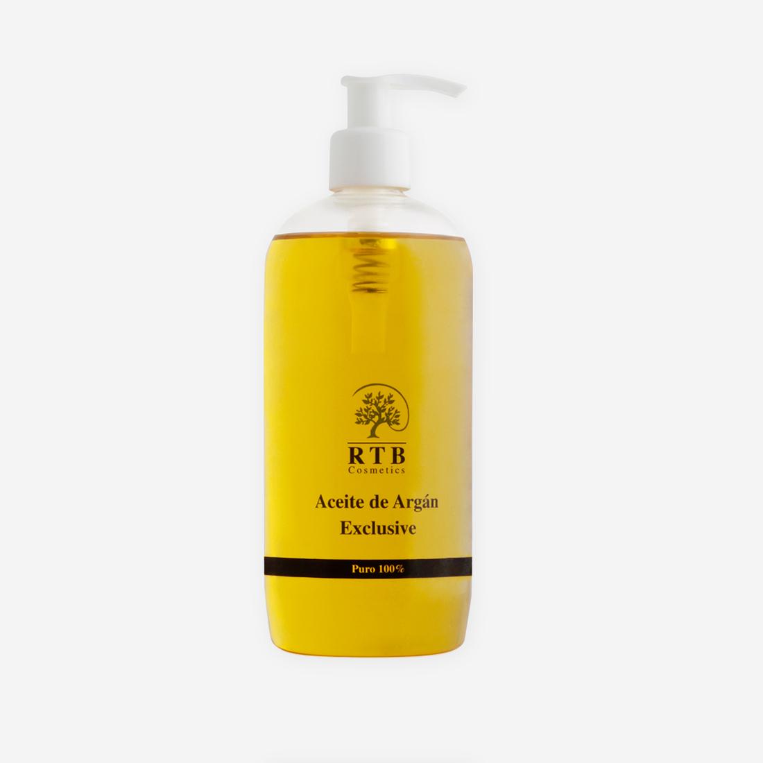 Aceite de Argán Bio 500 ML - RTB Cosmetics